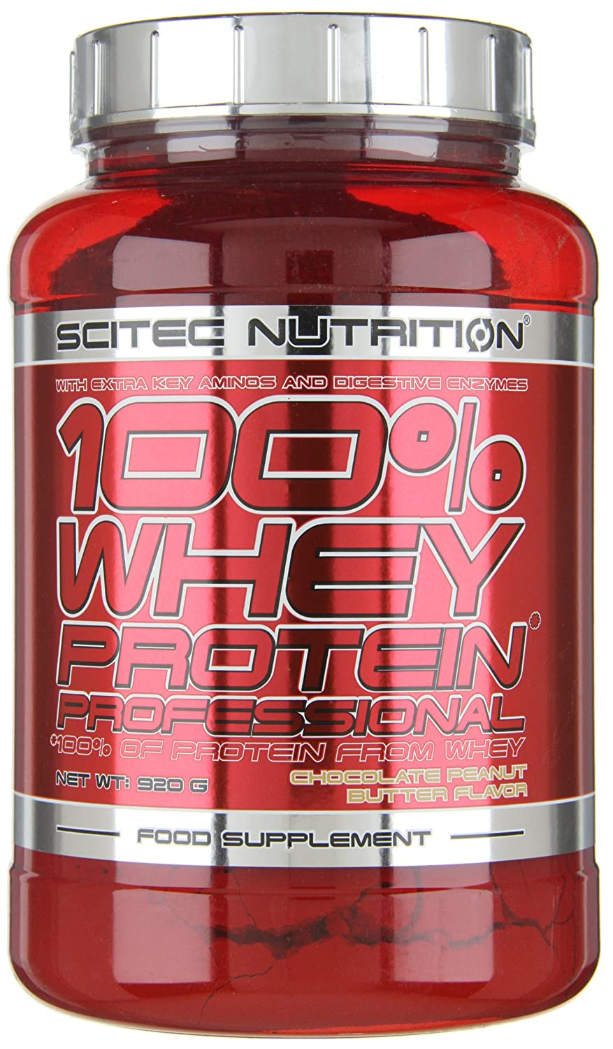 Scitec Nutrition Whey Protein Professional Proteína Chocolate, Cacahuete - 920 g