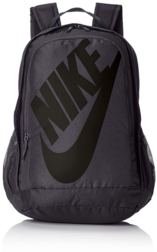 Nike Sportswear Hayward Futura Backpack for Men, Large Backpack with Durable Polyester Shell and Padded Shoulder Straps, Dark Grey/Dark Grey/Black best gym backpacks
