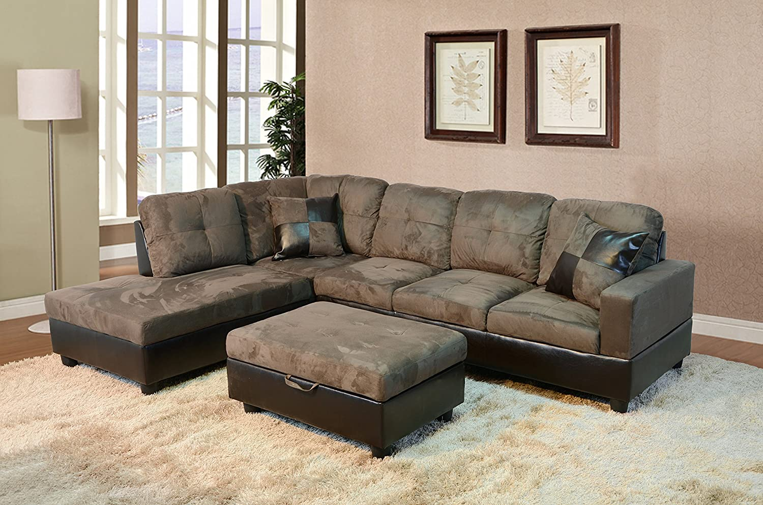 beverly lucienne reclining set open p sofa he furniture homelegance