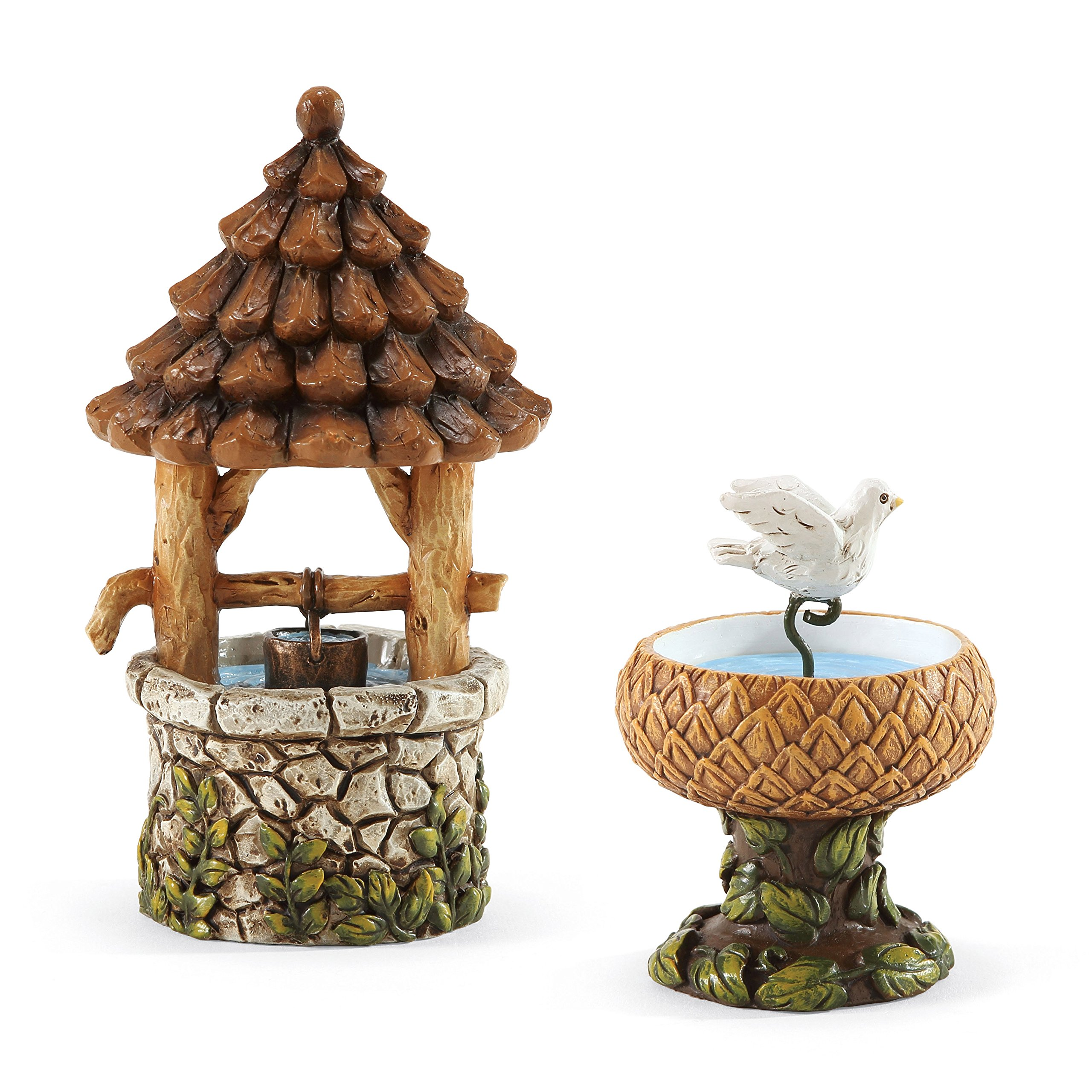Department 56 Garden Guardians Birdbath and Well