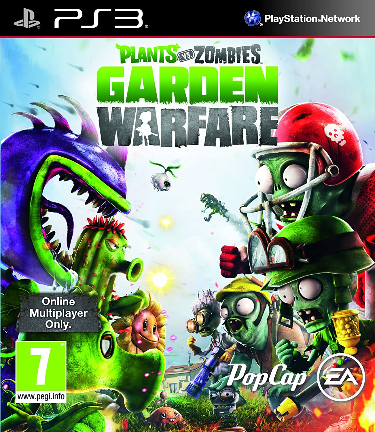 Plants Vs Zombies Garden Warfare (PS3): Plants Vs Zombies