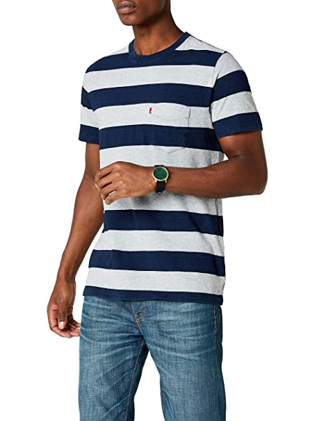 Levis SS Set-In Sunset Pocket - Camiseta para Hombre