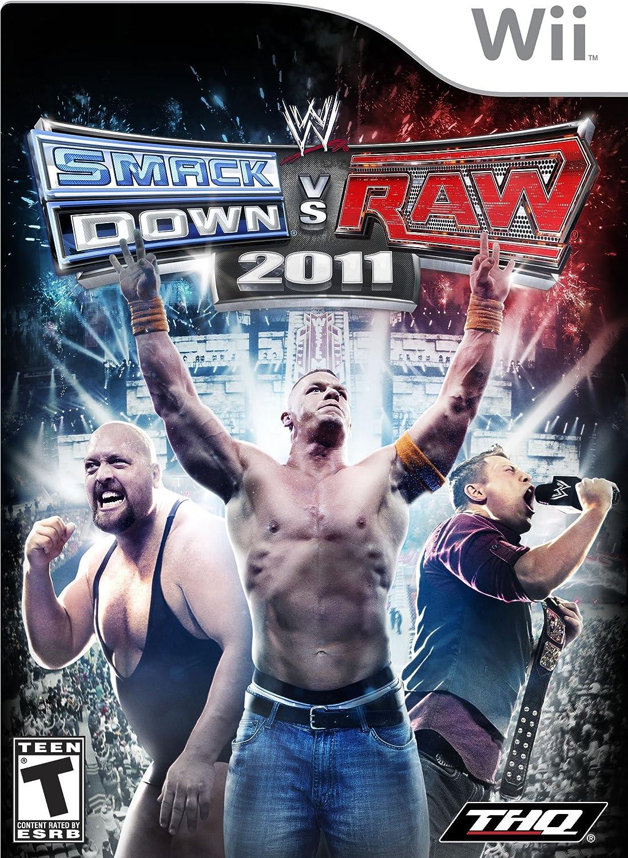 THQ WWE Smackdown vs Raw 2011, Wii, ESP Nintendo Wii Español vídeo - Juego (Wii, ESP, Nintendo Wii, Lucha, Modo multijugador): Amazon.es: Videojuegos