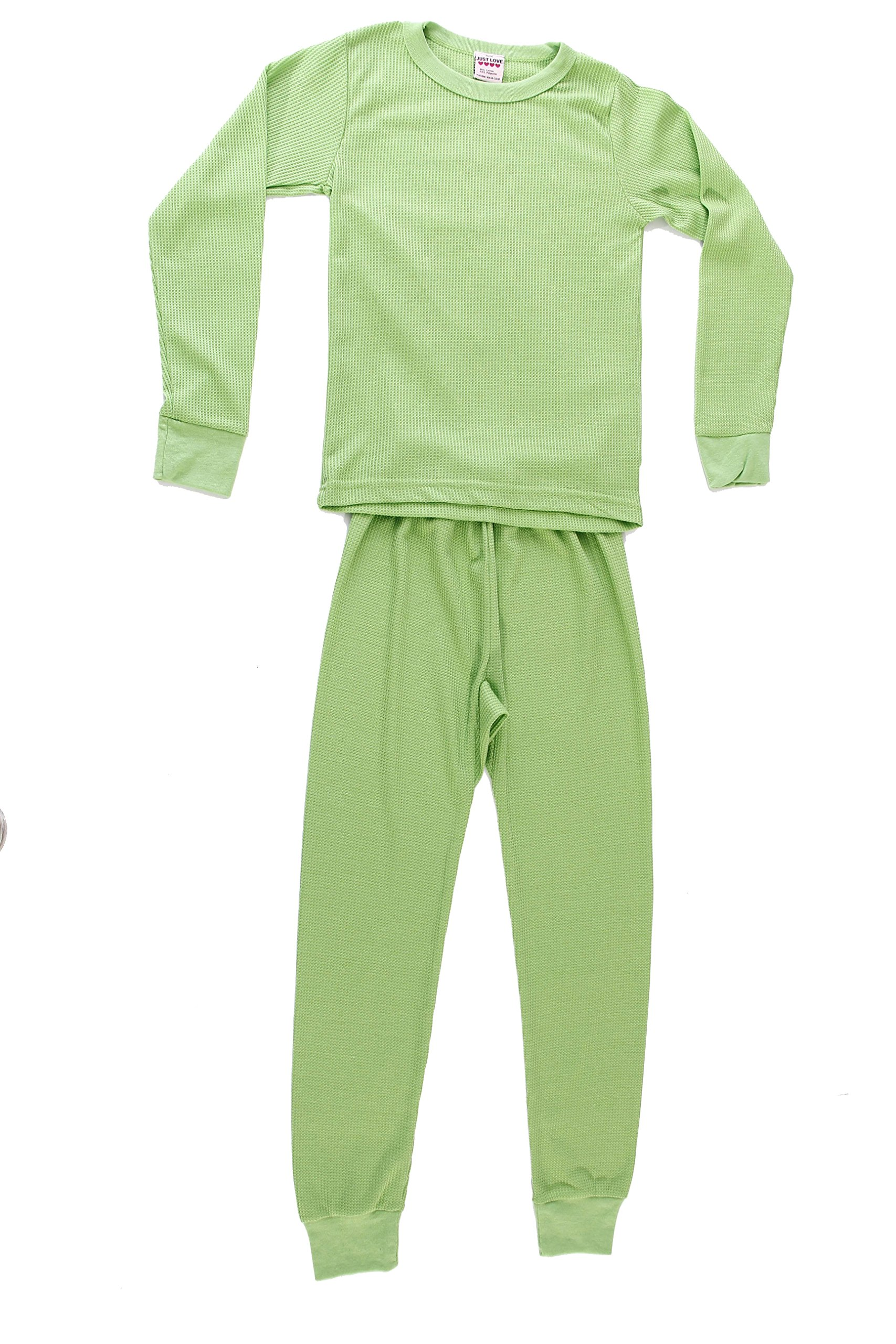 95462-Lime-14/16 Just Love Thermal Underwear Set for Girls
