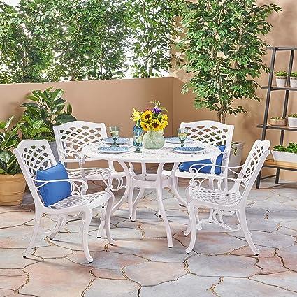 Amazon com: Christopher Knight Home Phoenix Outdoor White