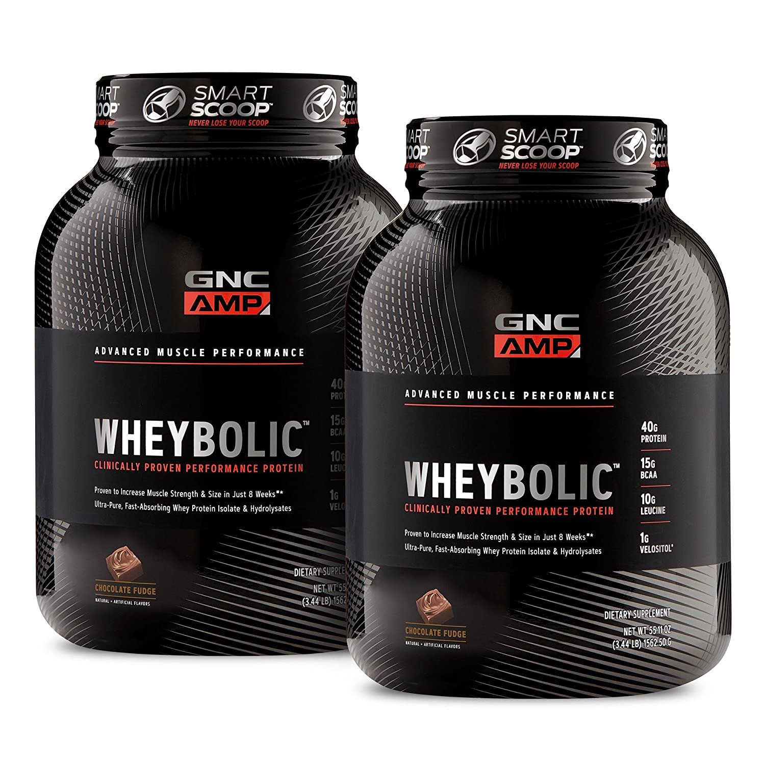 GNC AMP Wheybolic – Chocolate Fudge Bundle