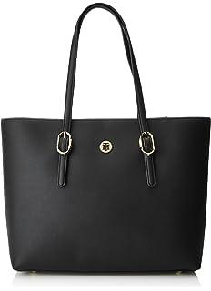 Tommy Hilfiger Women s Th Buckle Tote Shoulder Bag 8eacd77c01