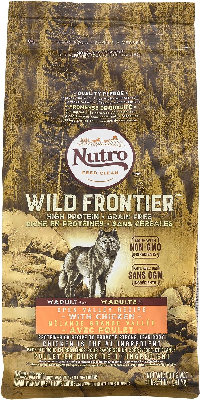 Nutro® - Comida para Perros sin Grano de Valle Abierto con Borde ...
