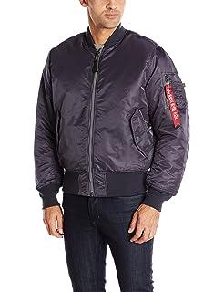402a2893aa36b Amazon.com: Alpha Industries Men's MA-1 Flight Bomber Jacket: Clothing