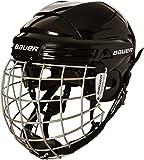 Bauer 2100 - Casco de hockey con rejilla de protección facial para adulto