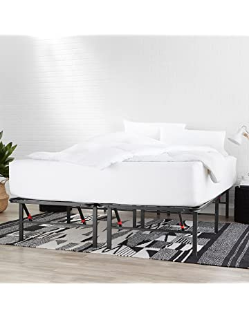 AmazonBasics Platform Bed Frame, Black