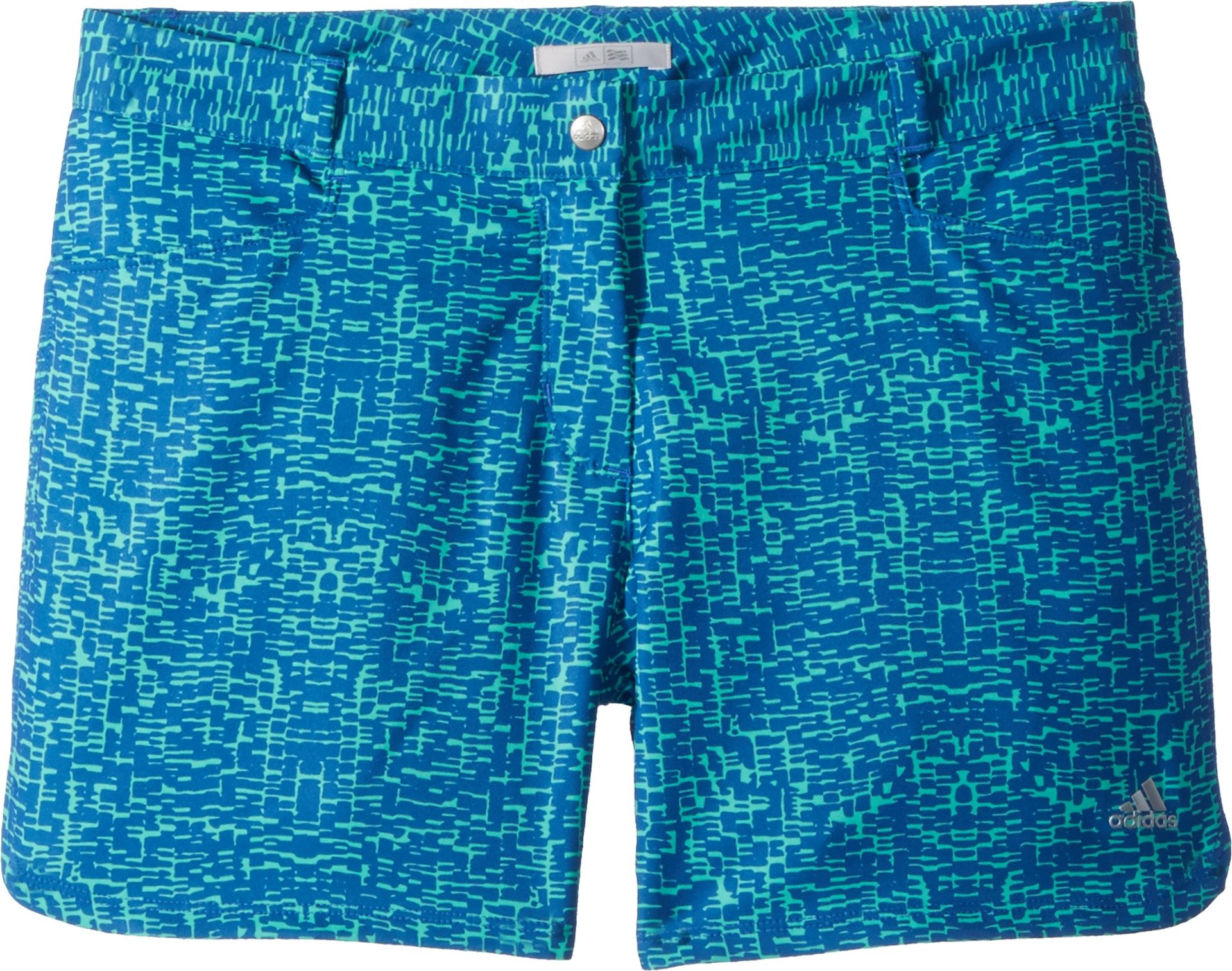 adidas Golf Print Shorts, Hi-Res Blue, X-Large by adidas