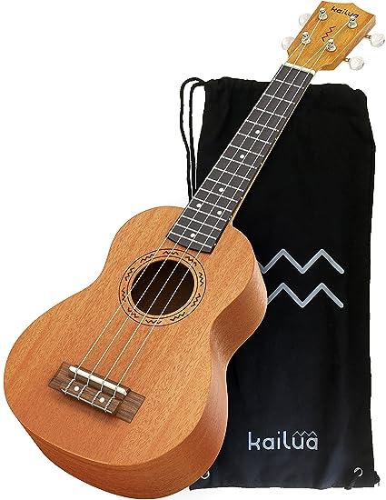Amazon Kailua 4 String Soprano Ukulele Hand Crafted Mahogany