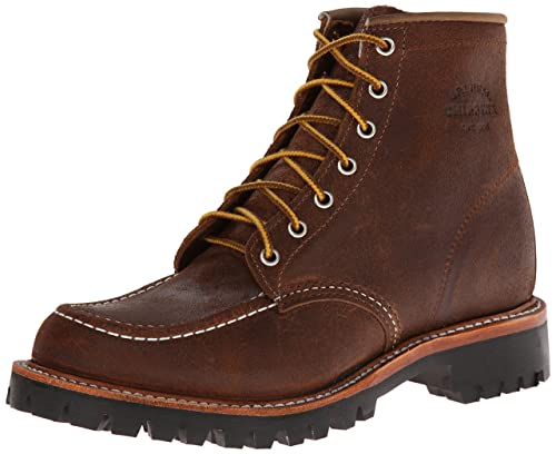 Chippewa 1901M64 Men's 6-in Mocc Toe Field Boot Brown Bomber 14 ...