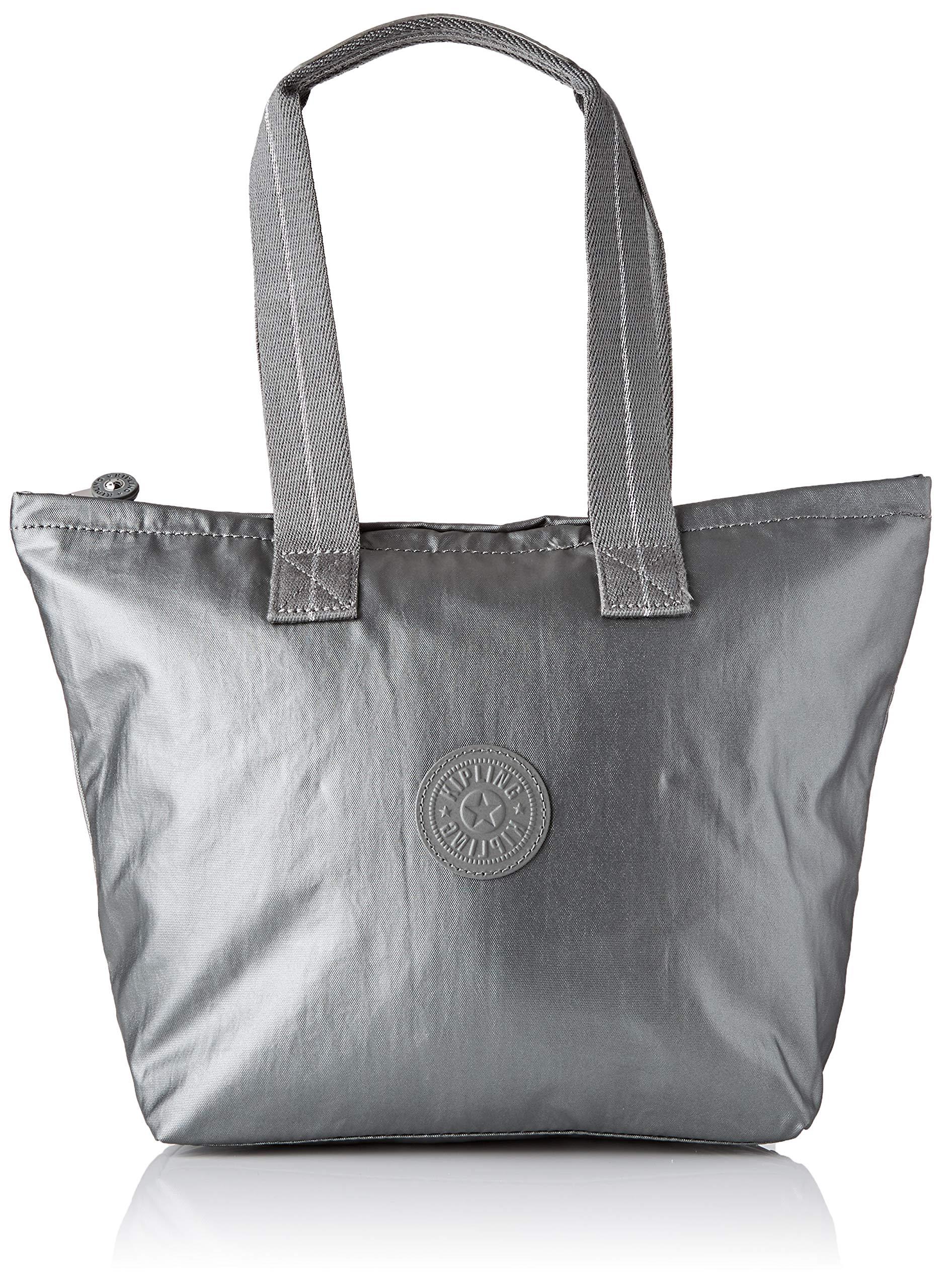 Kipling NIAMH Bag Organiser, 36 cm, 9 liters, Grey (Metallic Stony)