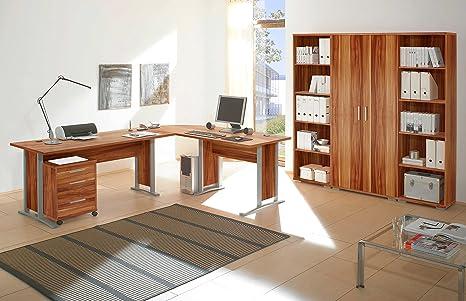moebel-dich-auf Arbeitszimmer Office Line in Walnuss 7 ...