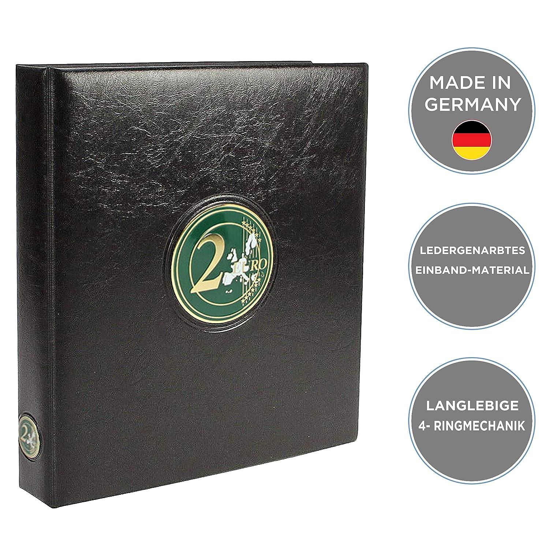 M/ünzensammelalbum f/ür die 2 Euro M/ünzen Europa ab 2015 f/ür 2 Euro M/ünzen ab 2015