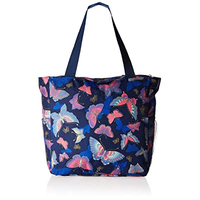 "hot sale 2017 World Traveler Butterfly 13.5"" Bag Beach Tote"