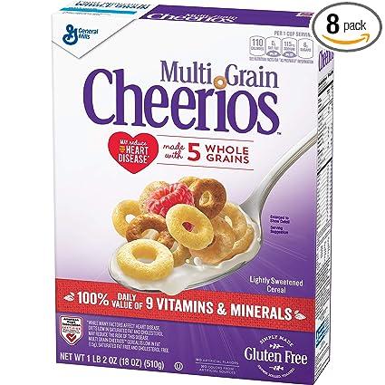 Múltiples quesos de cereales, sin gluten, cereales de varios ...