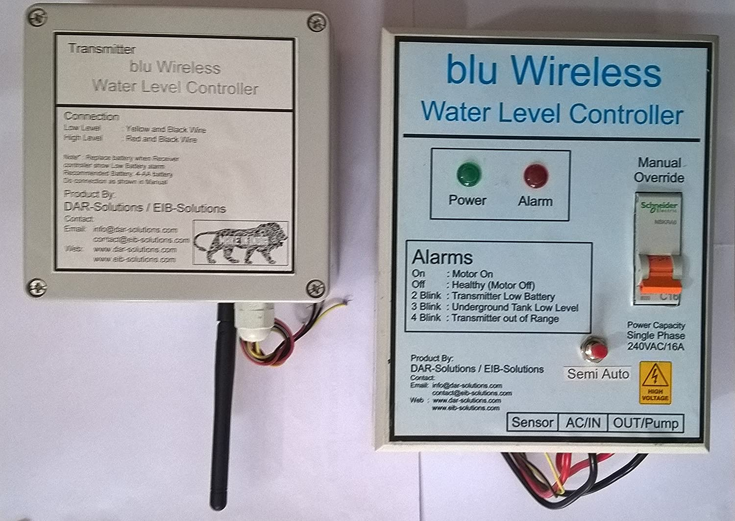 Blu Wireless Water Level Controller: Amazon.in: Electronics
