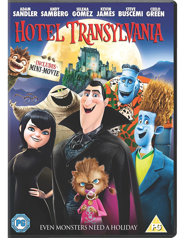 Hotel Transylvania DVD 2012 Amazoncouk Adam Sandler Kevin James Selena Gomez Steve Buscemi Andy Samberg Genndy Tartakovsky Blu Ray