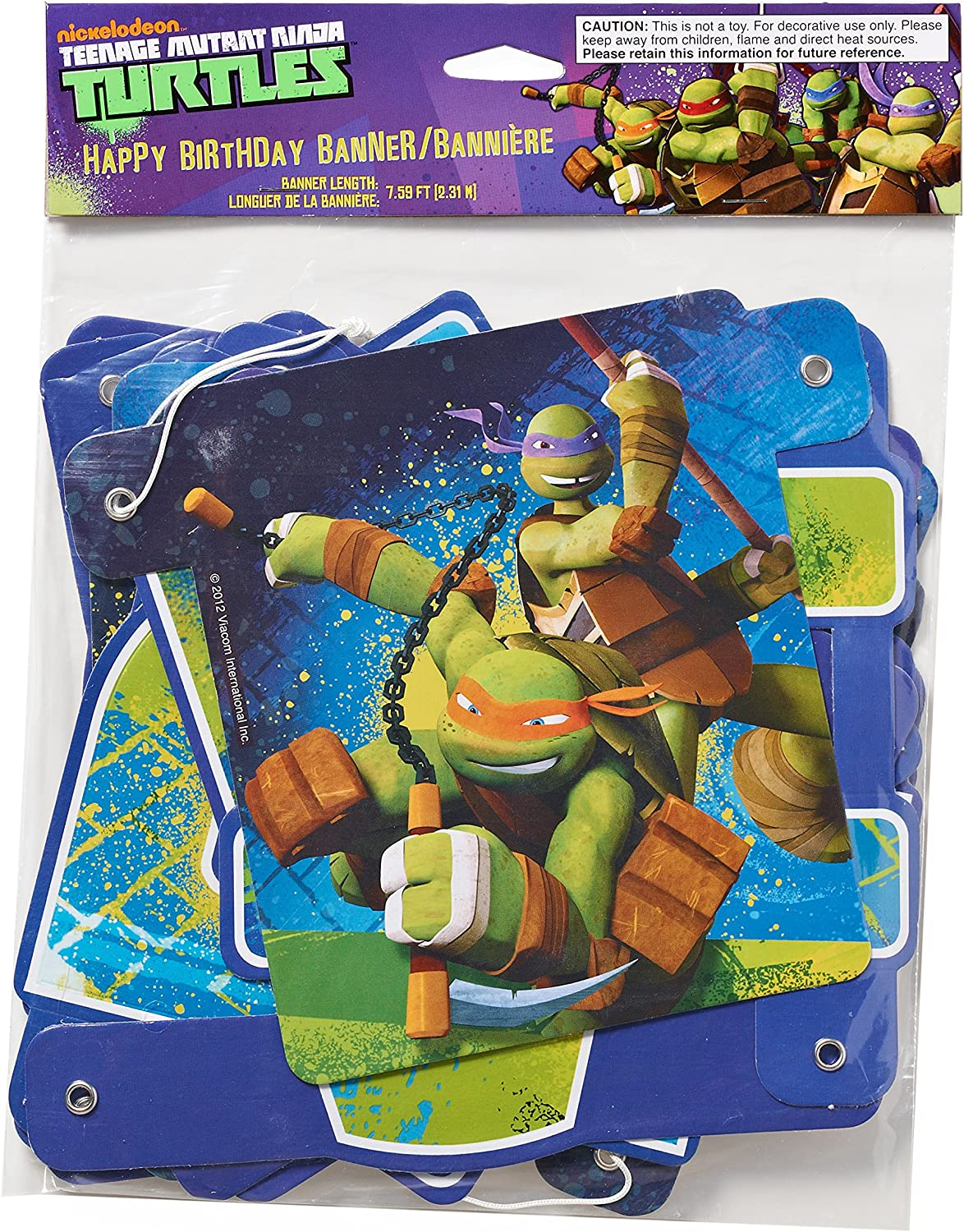 Amazon.com: Teenage Mutant Ninja Turtles Plato de servir ...