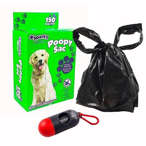 Amazon.com: Sparky bolsas de caca de perro – grandes bolsas ...
