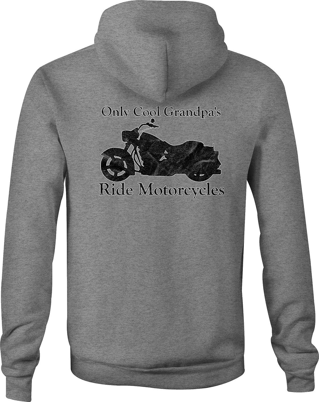 Motorcycle Long Sleeve Tshirt Only Cool Grandpa/'s Ride Custom Bike