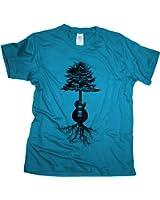 Guitar Roots - Herren T-Shirt | Gitarrist Rock Band Gitarre