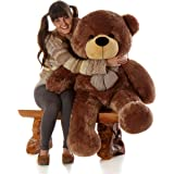 "Giant Teddy Sunny Cuddles - 47"" - Super Cute & Huggable, Bear Mocha Colored Big Plush Teddy Bear"