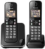 Amazon Price History for:Panasonic KX-TGC352B Expandable Cordless Phone with Amber Backlit Display - 2 Handsets, Black