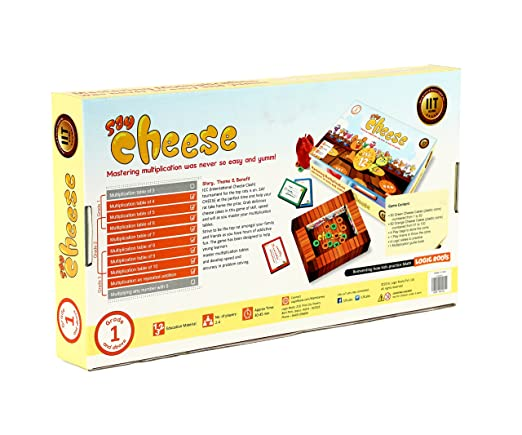 Amazon.com: SAY CHEESE – Math Board Game for Kids to master ...