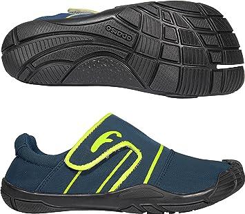 Freet Original Zapatillas de running Azul Ocean Blue/Lime Talla:Talla 38: Amazon.es: Deportes y aire libre
