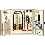 Pebaro bausch 401s - boîte à outils bois - 37 x 30 x 7 cm - import allemagne