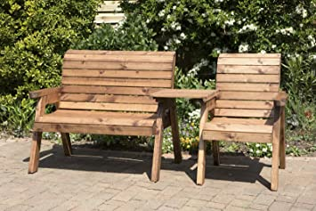 elegant uk made fully assembled heavy duty wooden garden bench love seat three seater bench with