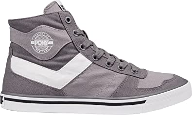 Pony Arena Hi Top - Zapatillas de deporte, color gris, gris, 4,5 UK: Amazon.es: Deportes y aire libre