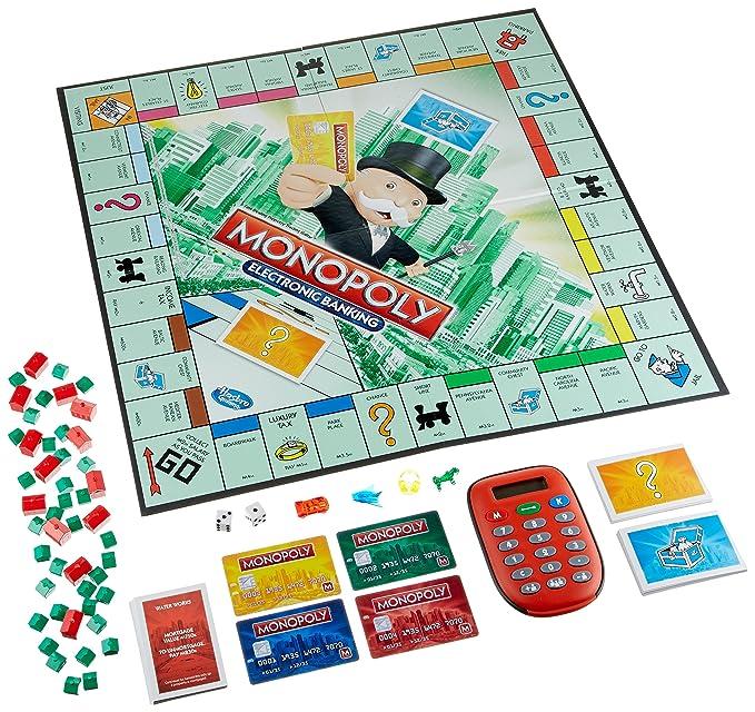 Hasbro Gaming Monopoly Electronico Juego De Mesa Version En