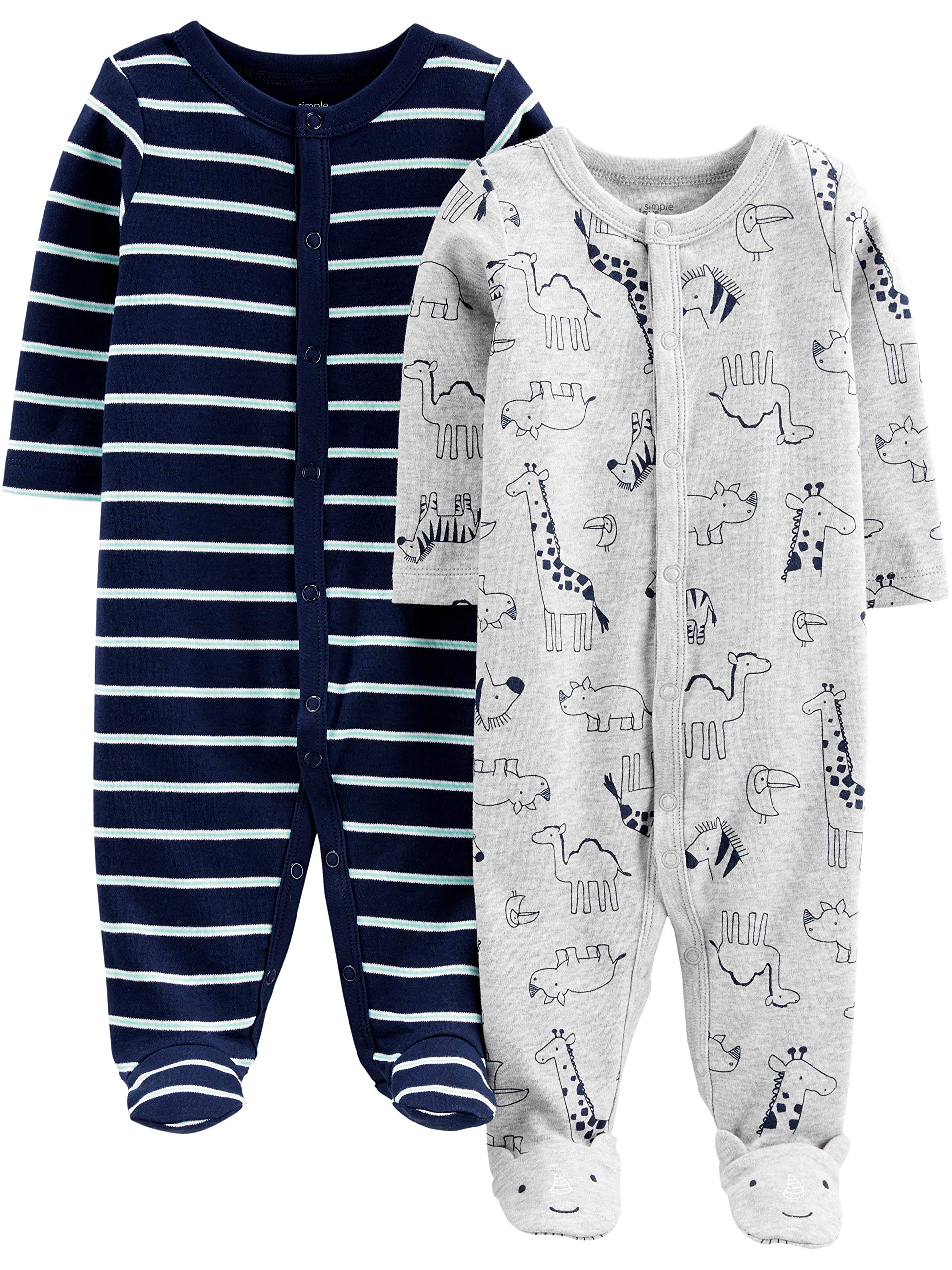 957d3b387 Best Rated in Baby Boys  One-Piece Footies   Helpful Customer ...