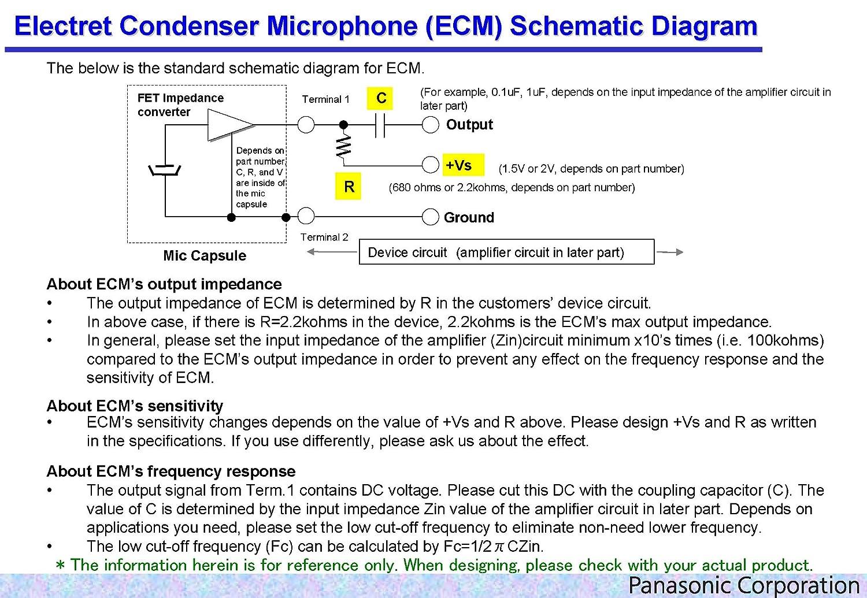 2pcs Wm 61a Omnidirectional Back Electret Condenser Microphone Circuit Schematics Cartridge Capsule Industrial Scientific