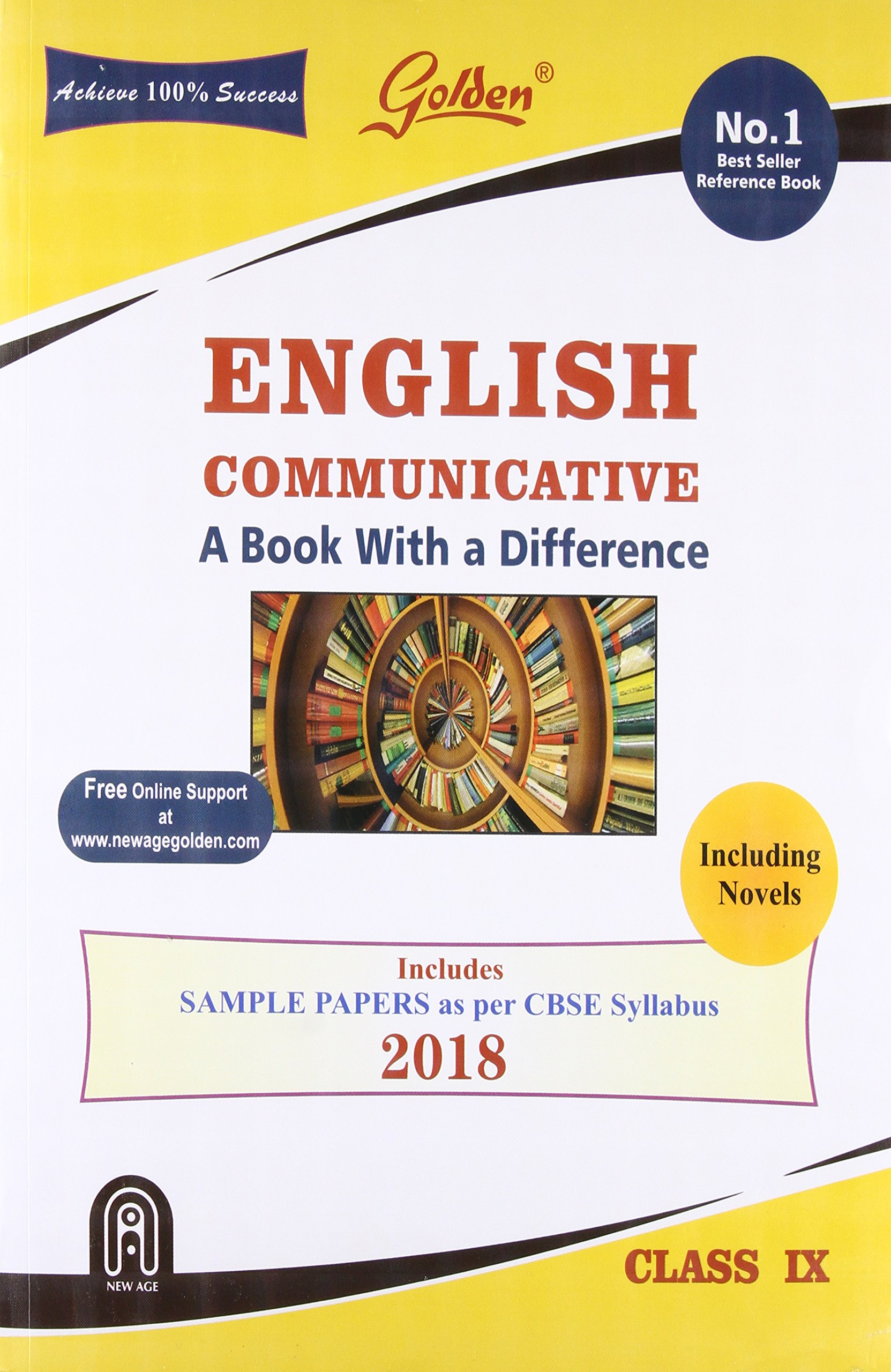 Golden English Communicative: With Sample Papers A book with Difference for  Class-9 Old Edition: Amazon.in: Gupta R.K.: Books