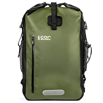 Amazon.com : COR Waterproof Dry Bag Roll-Top Backpack with Padded ...