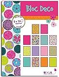 Toga PB98 Pois de Senteur Bloc de 28 feuilles imprimées Papier Multicolore 15 x 20 x 0,5 cm