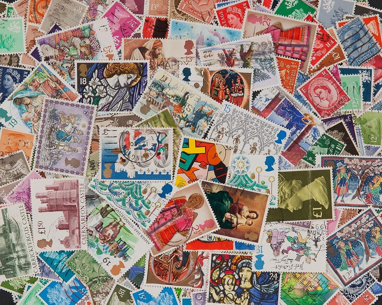 Goldhahn 100 Motivmarken V/ögel Briefmarken f/ür Sammler