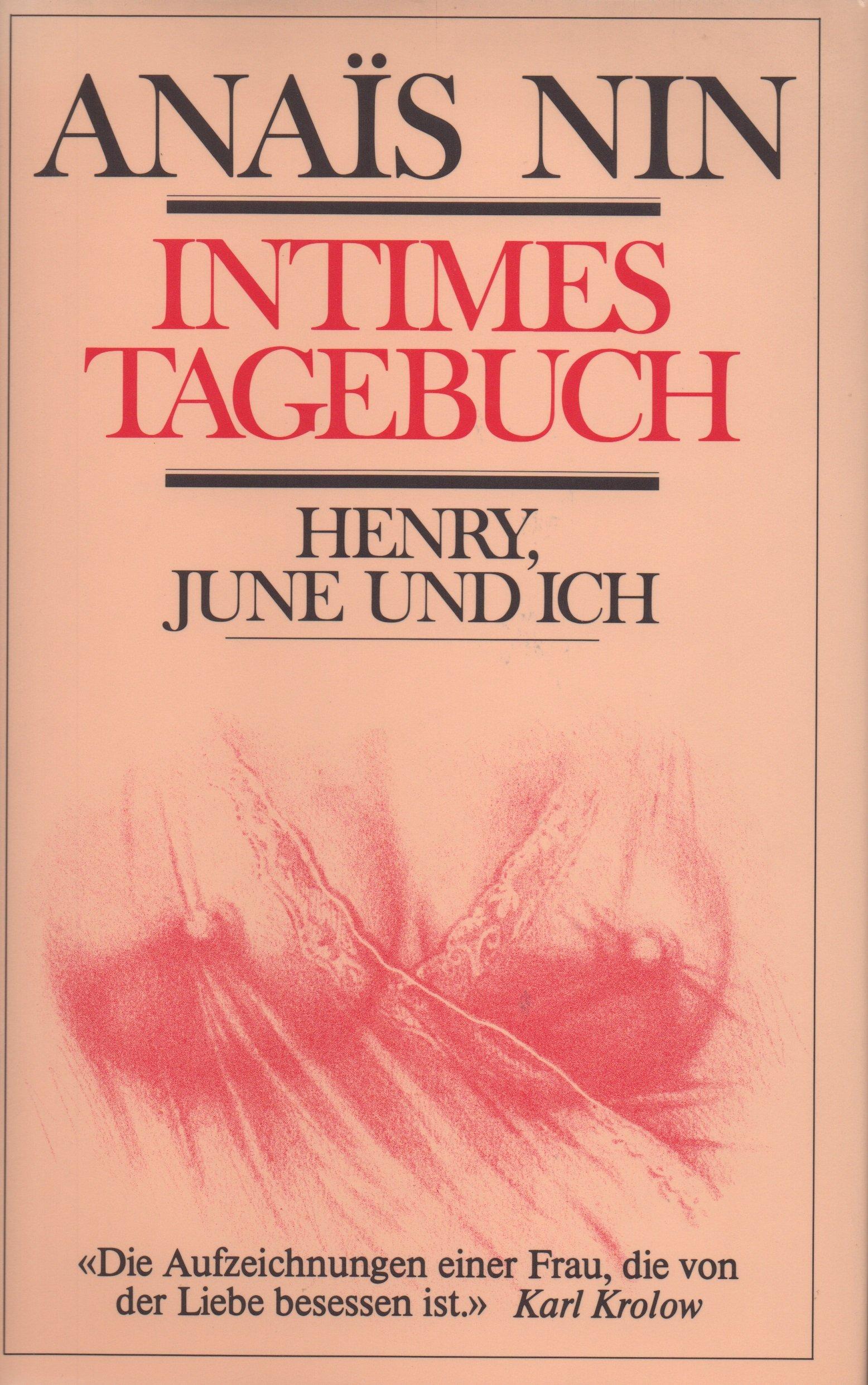 Intimes Tagebuch Gebundenes Buch – 1991 Anais Nin Fischer Scherz 3502195099 Miller