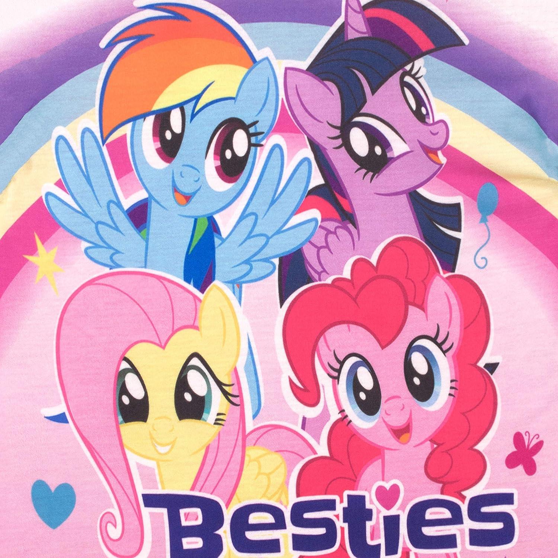 Mon Petit Poney My Little Pony Fille Ensemble De Pyjamas