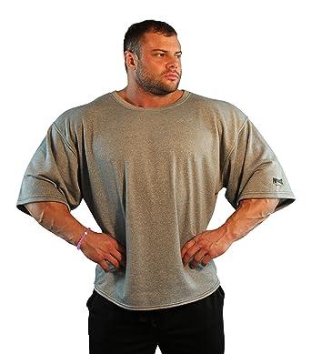 5b306fa146153 Amazon.com  Physique Bodyware Men s Vintage Bodybuilder Shirt. Made ...