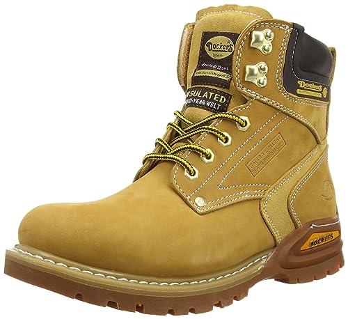 Dockers 27YN006-302910, Botas Desert para Hombre, Beige (Golden Tan 910), 45 EU: Amazon.es: Zapatos y complementos
