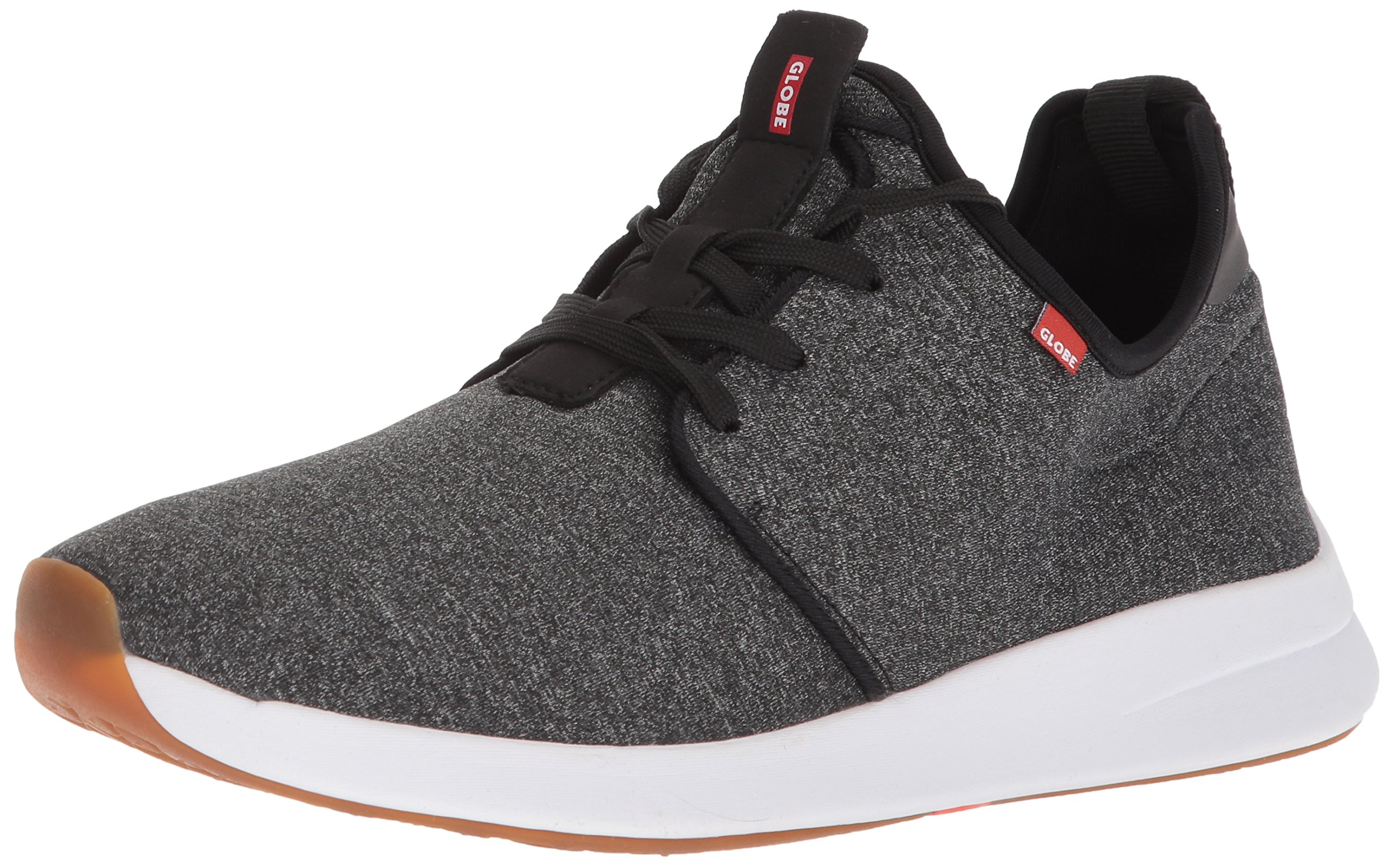 Globe Men's Dart LYT Skate Shoe, Black Stretch Chambray, 13 M US