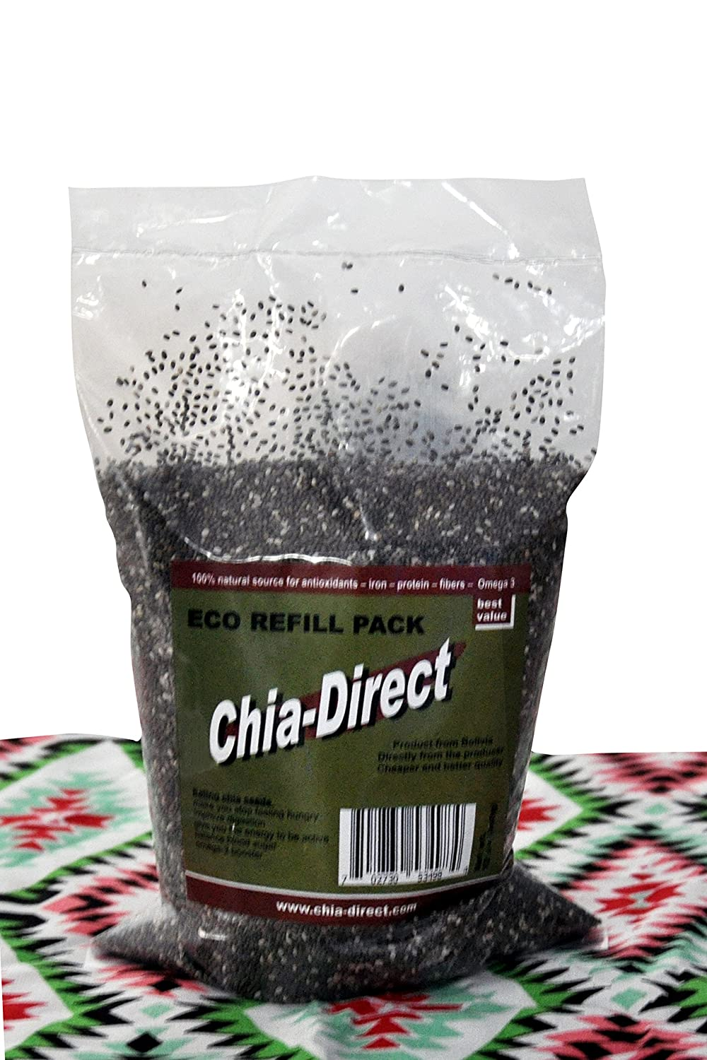 Amazon.com : Semillas naturales de chia, sin OGM 12oz ...