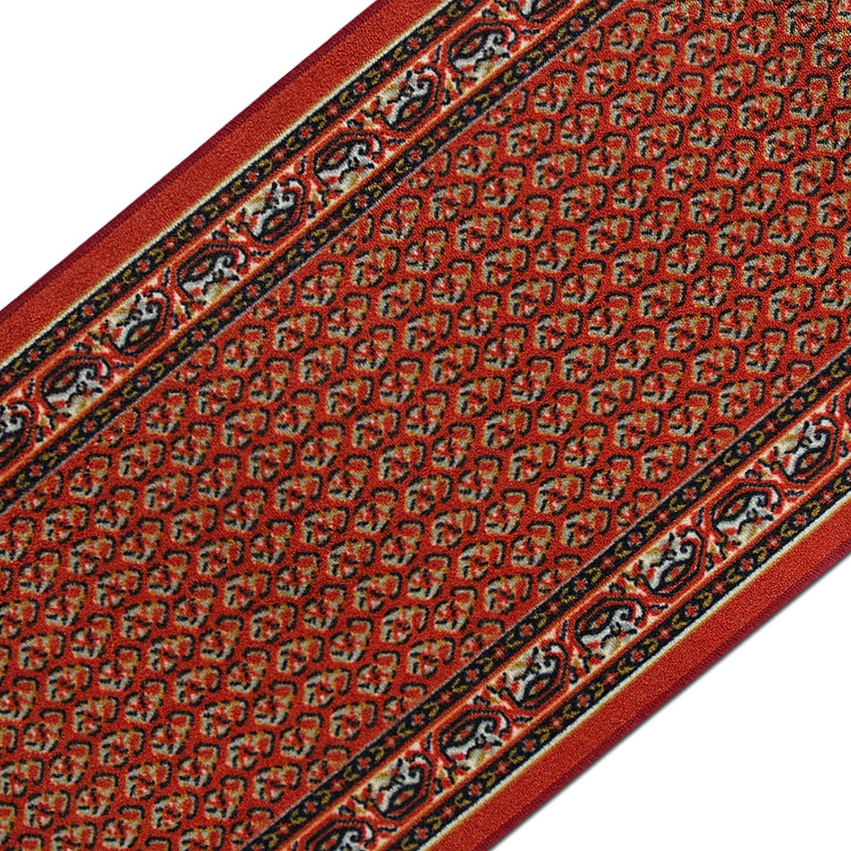 Casa pura Teppichläufer mit prachtvollem Design     brilliante Farben   Hochwertige Meterware, gekettelt   Kurzflor Teppich Läufer   Küchenläufer, Flurläufer (67x450 cm) 4448d5